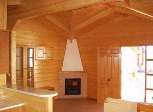 casas de madera con estufa de Casas Carbonell