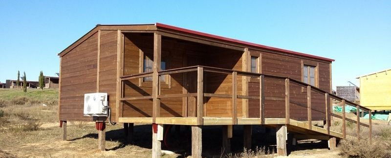 Casas de madera económicas CCR de Casas Carbonell