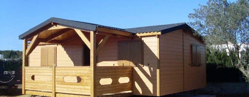 casa de madera modular o prefabricada de Casas Carbonell