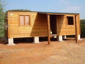 Casas baratas modulares, casa CCR 50. de Casas Carbonell