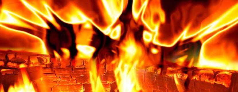 Protección casas madera contra el fuego