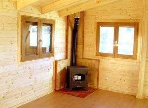 Estufa casas madera Casas Carbonell