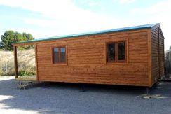 casas económicas de madera modulares CCR42 Casas Carbonell