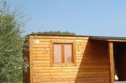 casa de madera barata CCR50 Casas Carbonell, modulares