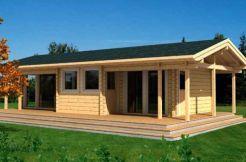 Cabaña de madera en kit Astrid