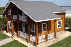 casas de madera, Casas Carbonell, modelo Porta Coeli, con pizarra