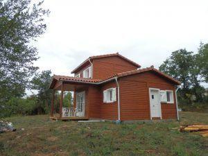 casas madera Madrid de Casas Carbonell