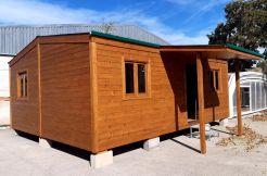 oferta casa de madera económica ideal