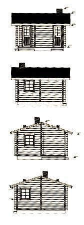 planos de casa de madera en kit sauna Sofia