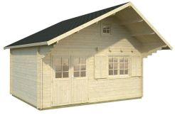 casita de madera Emily 28.8 de Casas Carbonell en madera maciza