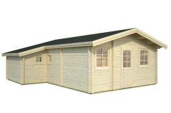 caseta de madera Emily de Casas Carbonell en madera tratada