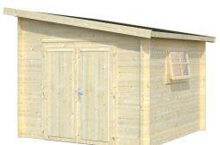 casita barata Leif 7.3 de Casas Carbonell puerta doble