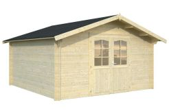 casetas de jardin economicas Lotta 13.9 de Casas Carbonell en madera tratada