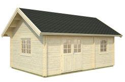bungalow de madera Sandra 29.9 de Casas Carbonell en madera maciza