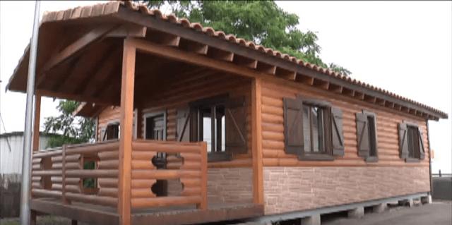 Vivienda de madera Kempes 66 m² de entramado ligero