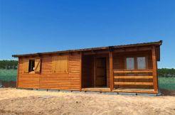 casa prefabricada en madera Arándano de Casas Carbonell