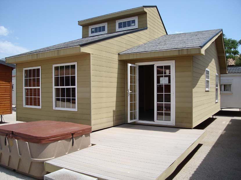 Casa prefabricada moderna madera modelo baltico de casas carbonell - Casa prefabricada moderna ...
