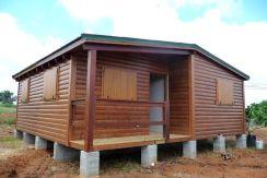 casa de madera modular Laurel de Casas Carbonell montaje rapido