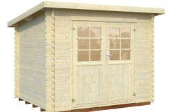 casitas de jardín Mary 4.8 de Casas Carbonell en madera tratada