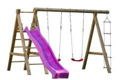 parque en madera infantil Sofia de Casas Carbonell