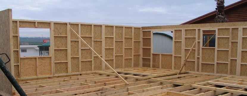 Casas prefabricadas de entramado ligero de madera de - Construcciones casas prefabricadas ...