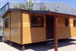 Casa móvil prefabricada usada, modelo Denia de Casas Carbonell