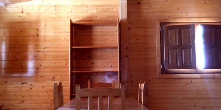 Casa móvil prefabricada usada, modelo Denia de Casas Carbonell amplio comedor