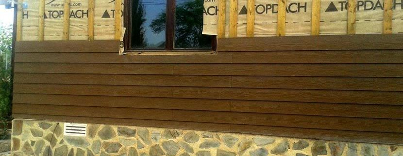 renovación de fachada de casa de madera por Casas Carbonell