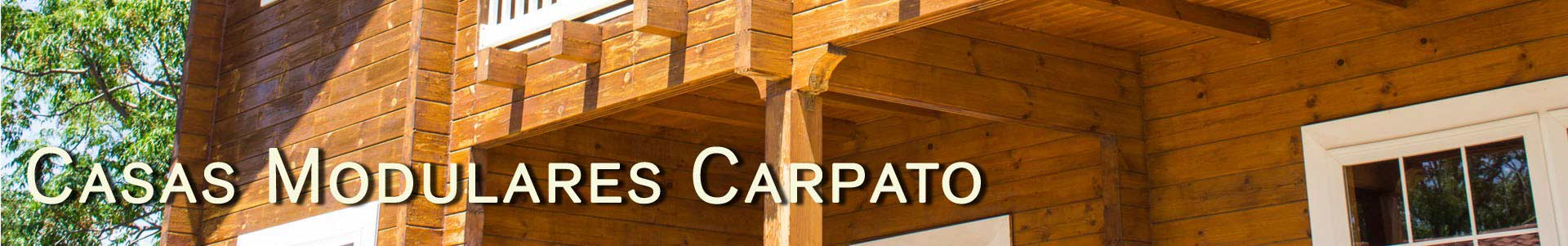 Casas de madera modulares Carpato