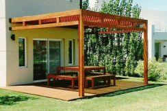 Pérgola de terraza, modelo MALAGA.