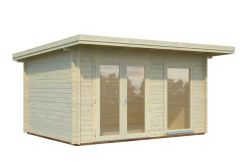 Caseta de jardín robusta, cabaña HEIDI 11,7 m².