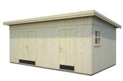 Cobertizo para jardín KALLE 16,9 m².