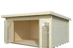 Cabaña de maderaLEA 14,2 m²