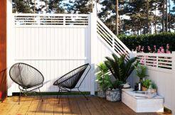 vallas de madera para exterior