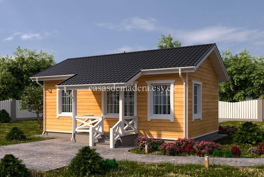Casa de madera 003 2 - Casa de madera Modelo 003