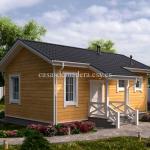 Casa de madera Modelo 003