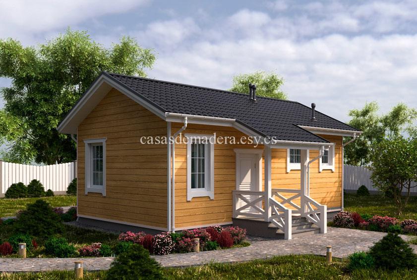 Casa de madera 003 3 - Casa de madera Modelo 003