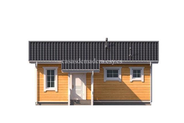 Casa de madera 003 6 - Casa de madera Modelo 003