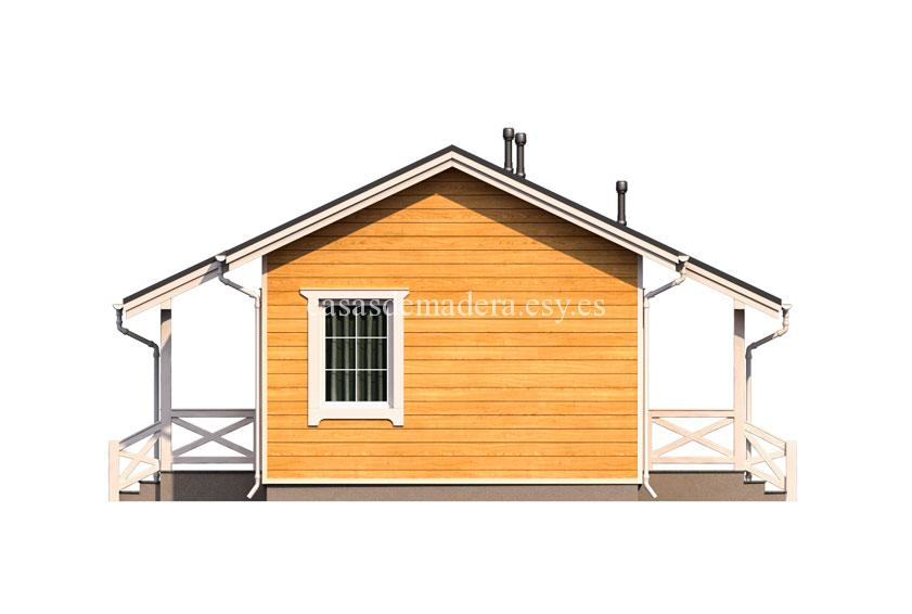 Casa de madera 003 7 - Casa de madera Modelo 003