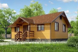 Casa de madera de calidad superior