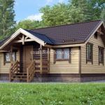 Casa de madera de lujo modelo L03