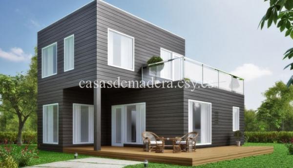 Casa prefabricada M03 3 - Casa prefabricada moderna modelo M03