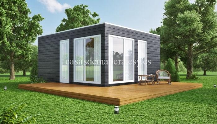 Casa prefabricada moderna M01