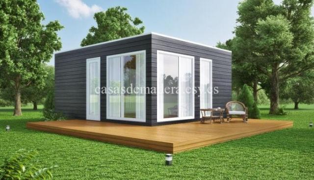 Casa prefabricada moderna 001 1 - Casa prefabricada moderna  M01