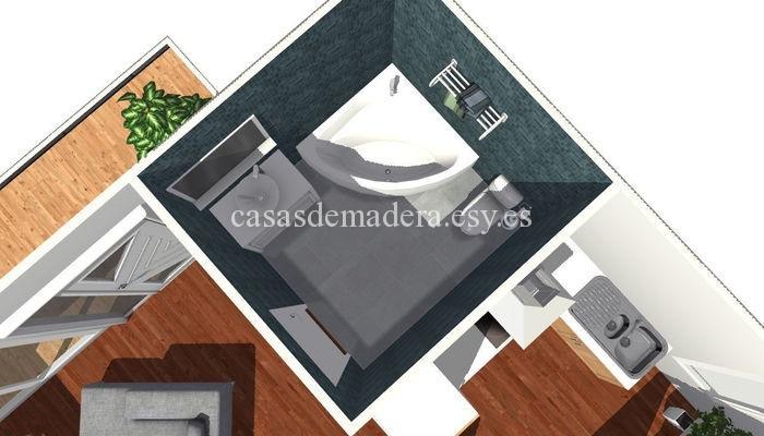 Casa prefabricada moderna 001 3 - Casa prefabricada moderna  M01