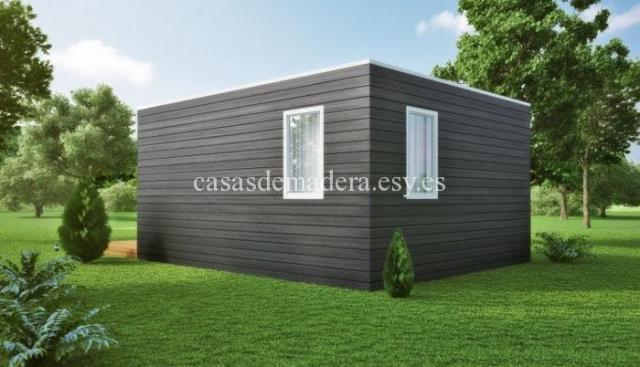 Casa prefabricada moderna 001 7 - Casa prefabricada moderna  M01