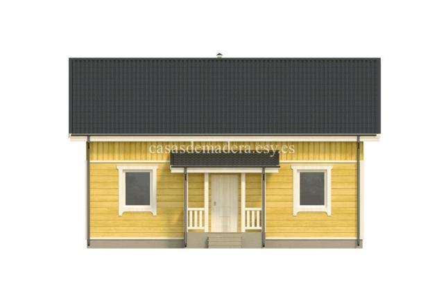 Casa de madera 001