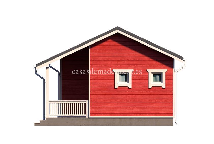 casa de maderas 002 1 - Casa de madera Modelo 002