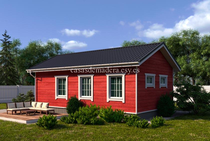 casa de maderas 002 4 - Casa de madera Modelo 002