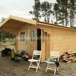 Casas de madera Italfrom 19m2